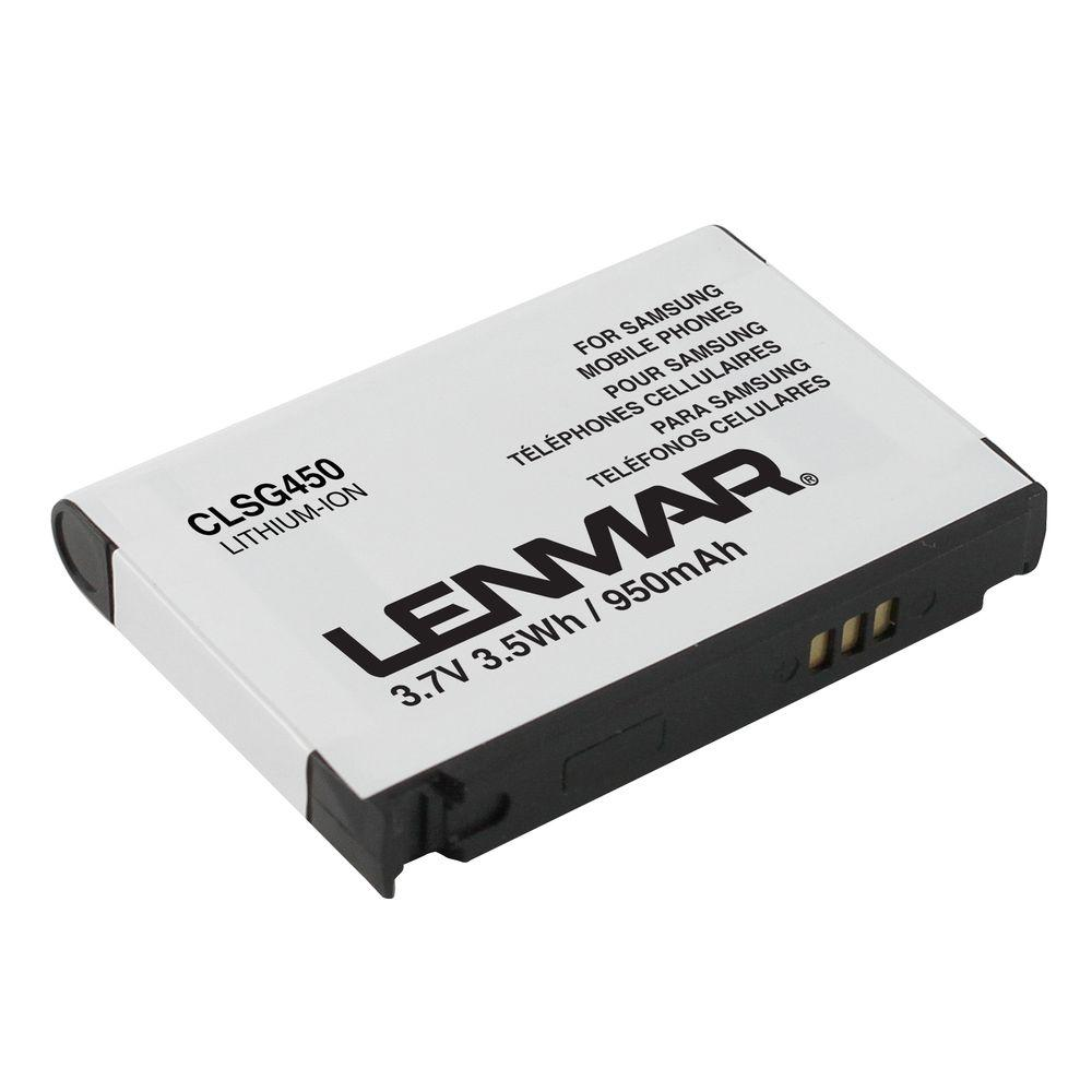 Lenmar Lithium-Ion 950mAh/3.7-Volt Mobile Phone Replacement Battery
