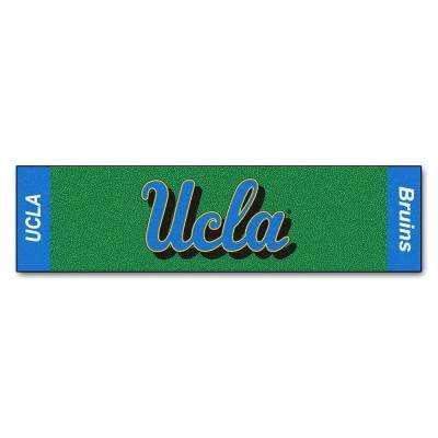 NCAA University of California Los Angeles UCLA 1 ft. 6 in. x 6 ft. Indoor 1-Hole Golf Practice Putting Green