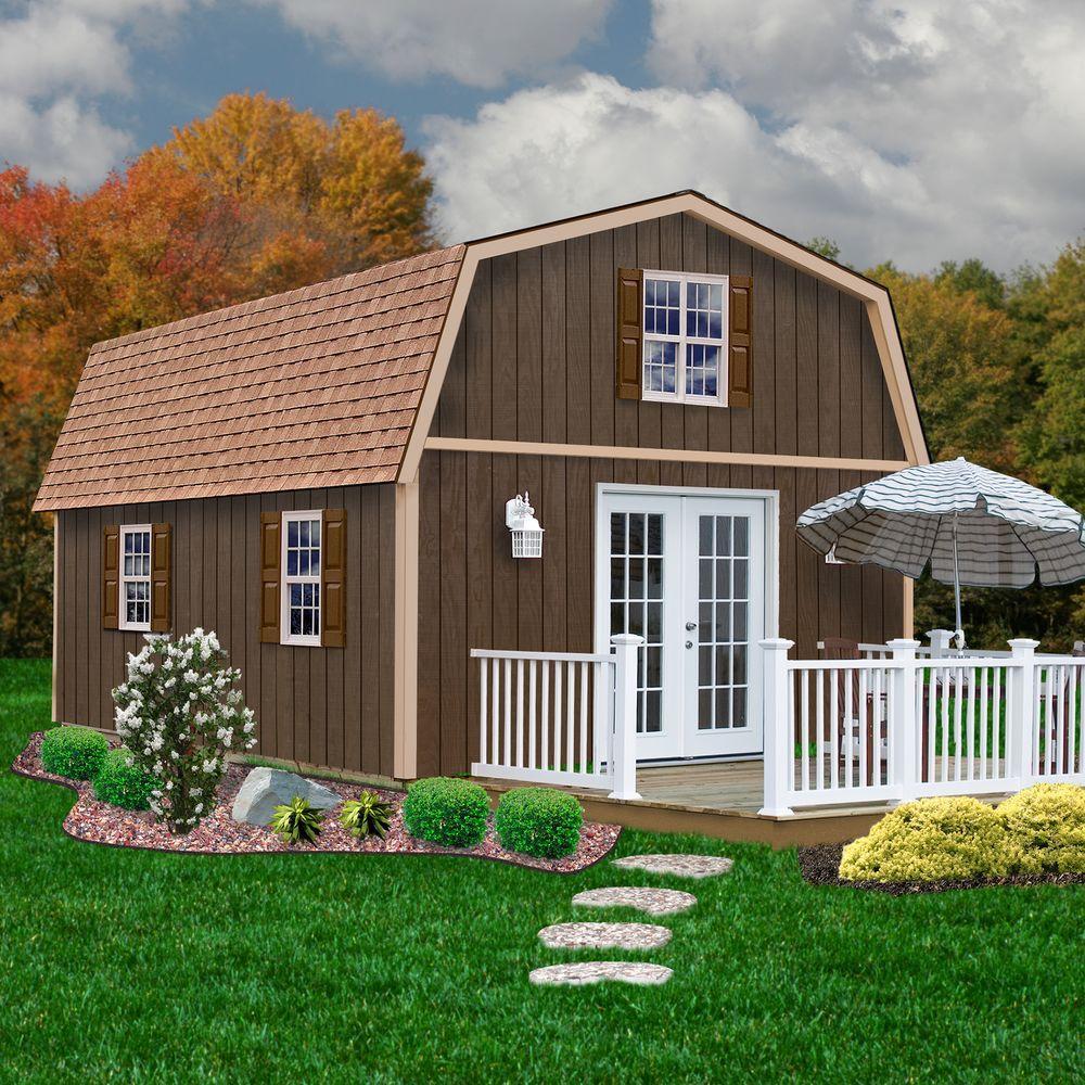 Best Barns Richmond 16 Ft X 24 Ft Wood Storage Building