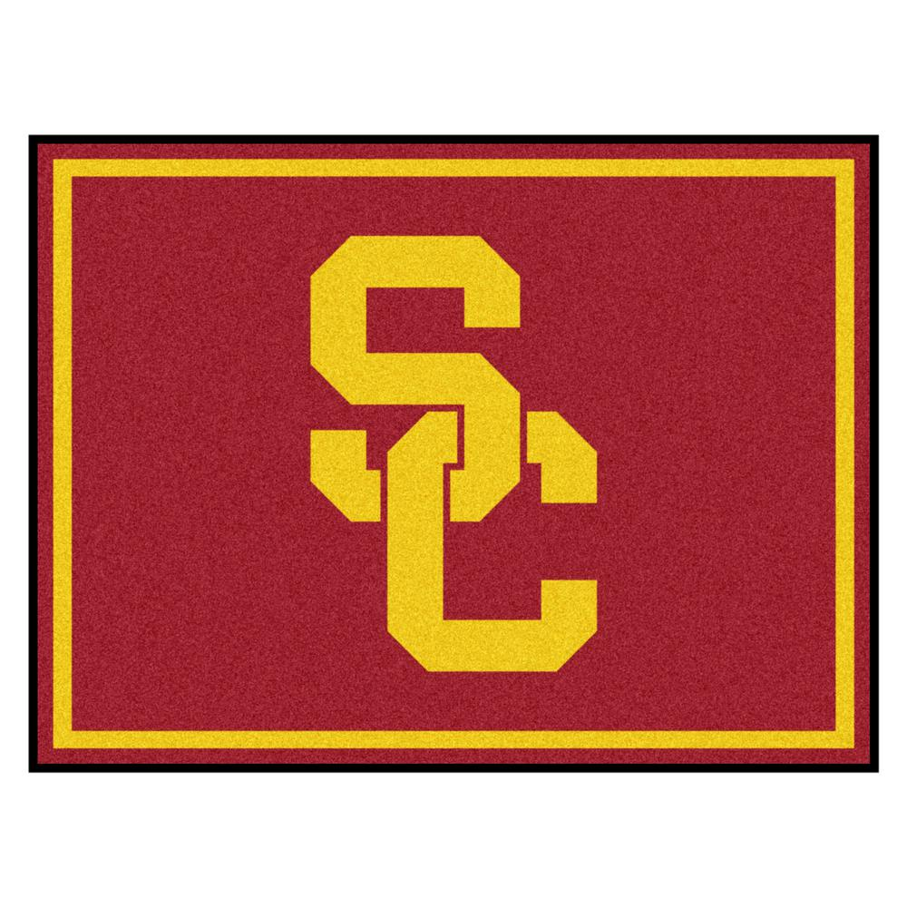Fanmats Ncaa University Of Southern California Red 8 Ft X