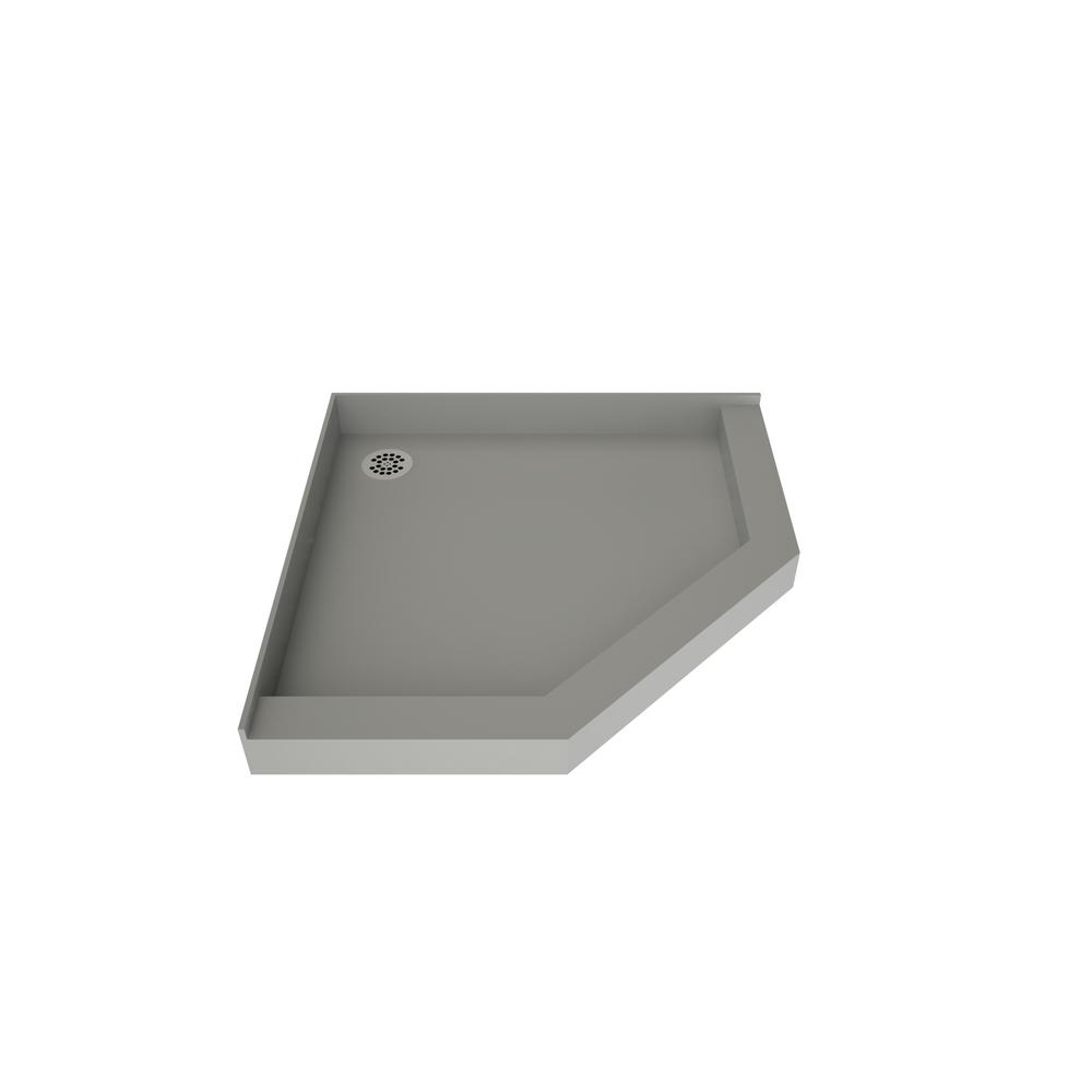 Bon Neo Angle Shower Base With Back Drain