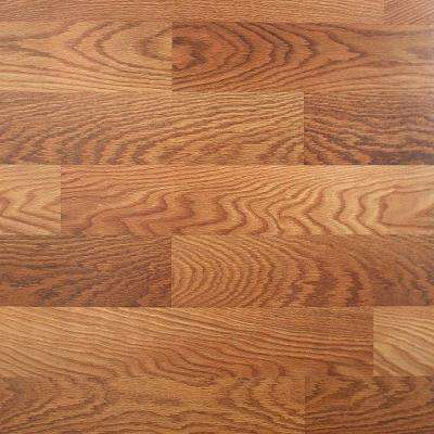 Lansbury Oak 7 Mm Thick X 8.03 In. Wide X 47.64 In. Length Laminate