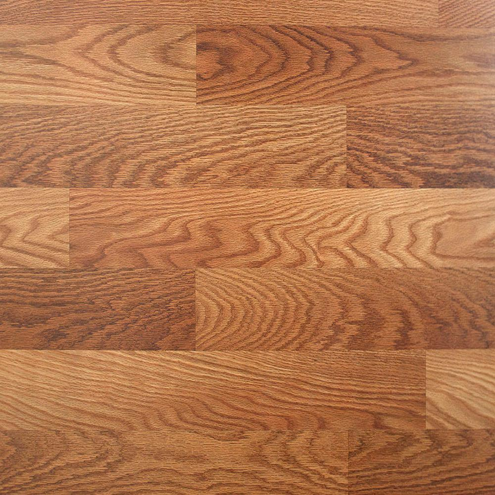 Trafficmaster Lansbury Oak 7 Mm Thick X 8 03 In Wide X 47 64 In