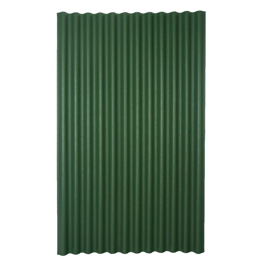 Ondura 6 Ft 7 In X 4 Ft Asphalt Corrugated Roof Panel