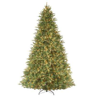 9 ft. Feel Real Tiffany Fir Hinged Artificial Christmas Tree with 1050 Clear Lights