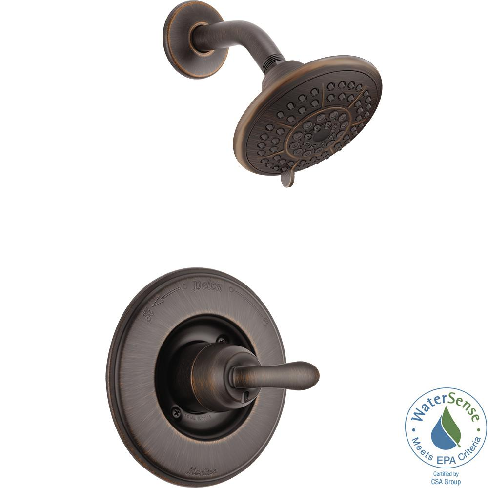 Delta Linden 1-Handle 1-Spray Shower Only Faucet Trim Kit in Venetian Bronze (Valve Not Included)