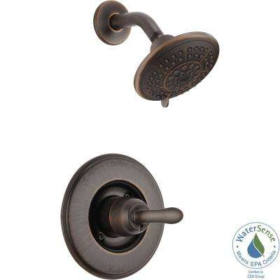 Linden 1-Handle 1-Spray Shower Only Faucet Trim Kit in Venetian Bronze (Valve Not Included)
