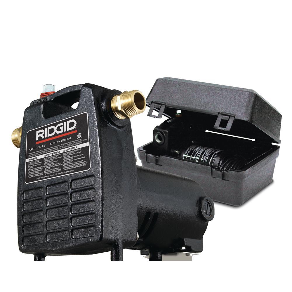 Ridgid 1 2 Hp Portable Utility Pump
