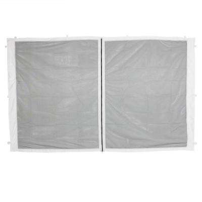 1 Zippered Mesh Sidewall Panel for 10 ft. x 10 ft. Straight Leg Canopy