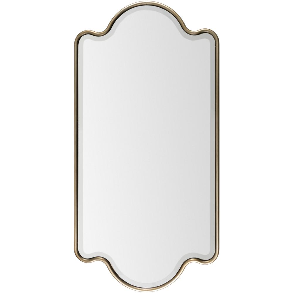 Ambriel 28 in. x 55 in. Glam Framed Mirror