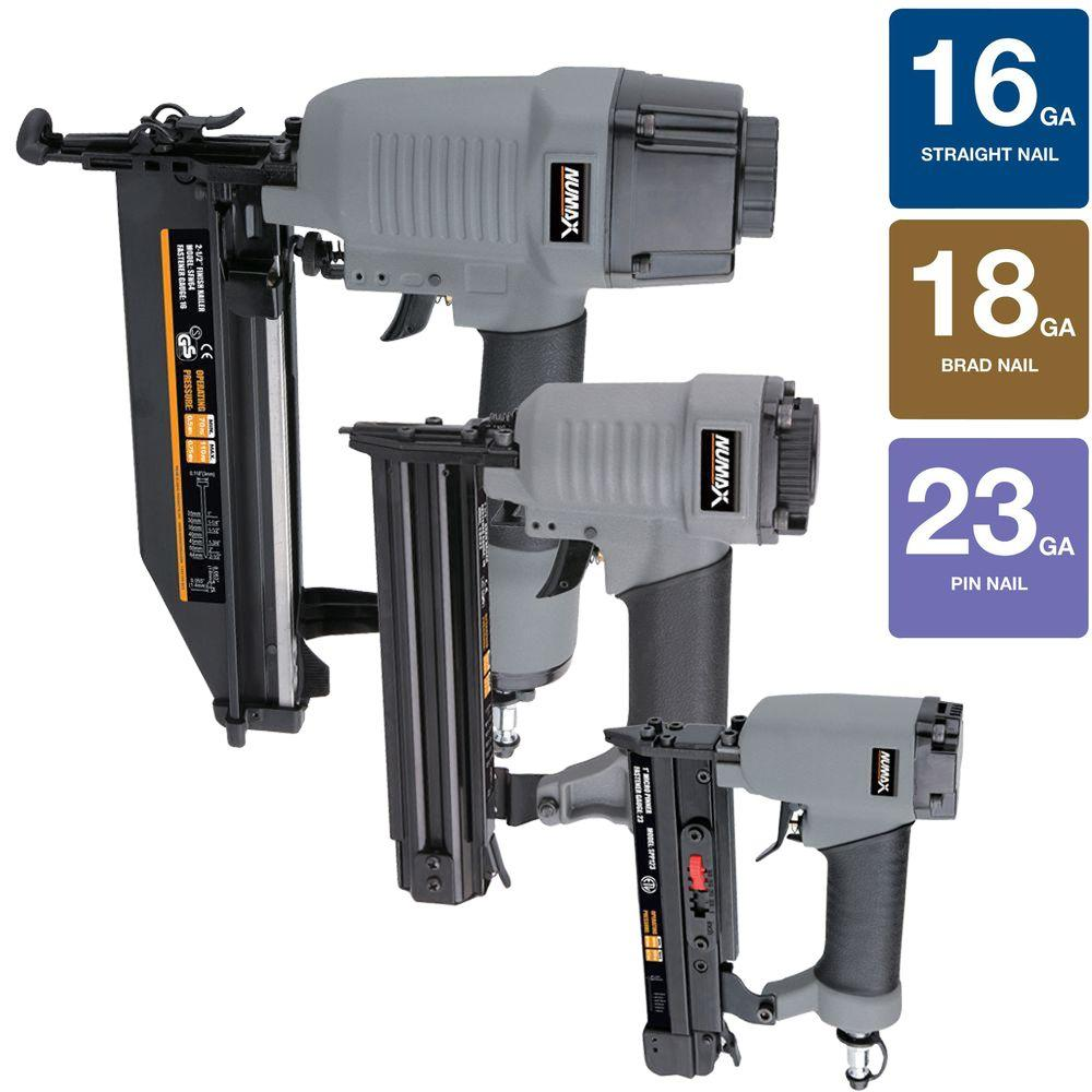 NuMax Nailer Kit (3-Piece)-NM6432123 - The Home Depot