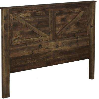 Brownwood Rustic Queen Headboard