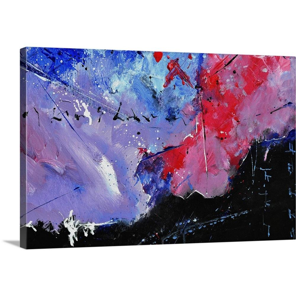 Greatbigcanvas abstract 45216 by pol ledent canvas wall art 2545225 24 30x20 the home depot