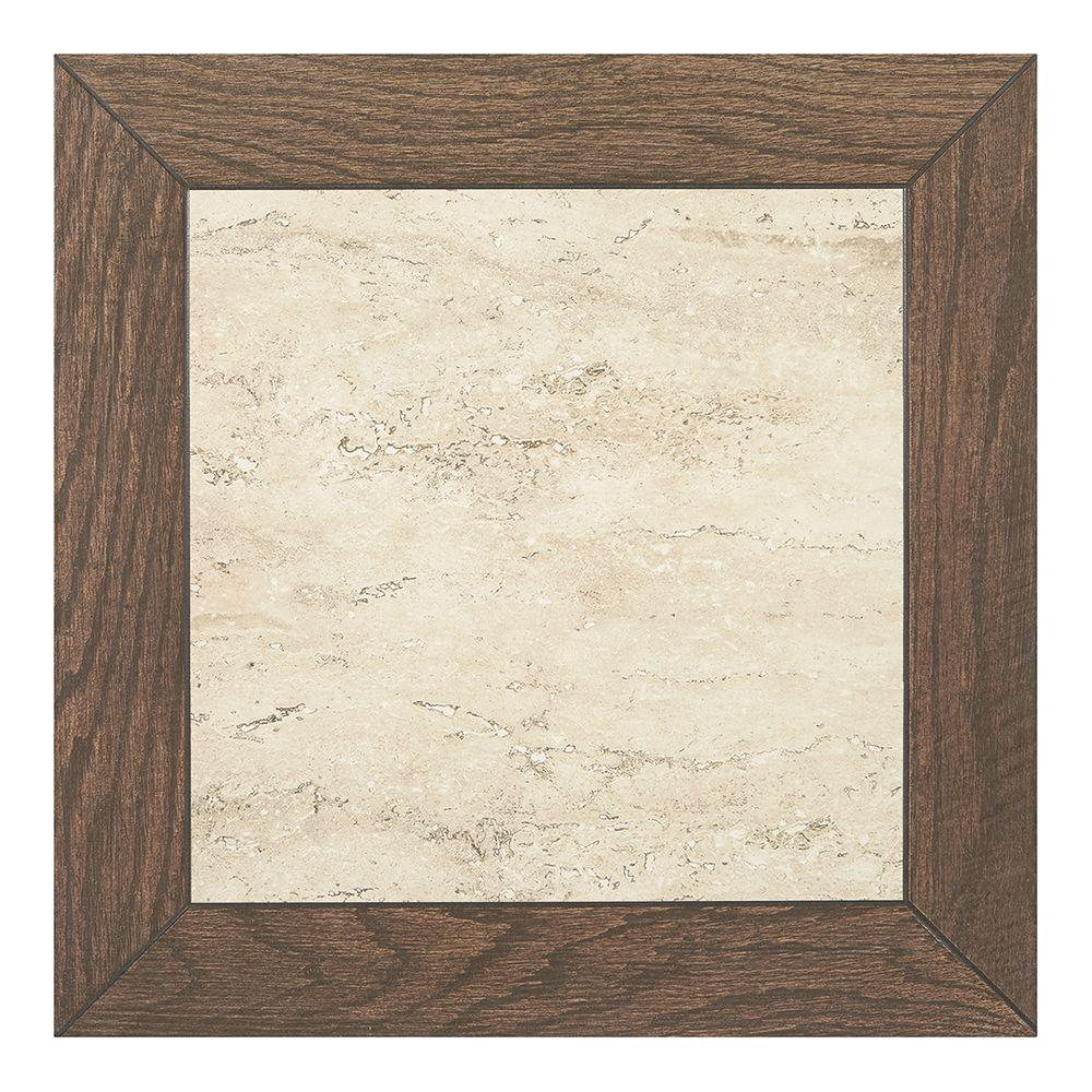 Marazzi montagna brushed saddle 18 in x 18 in glazed Marazzi tile