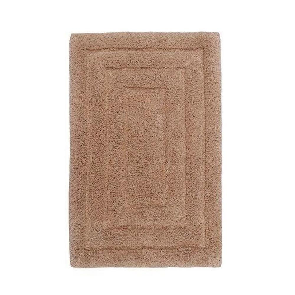 CASTLE HILL LONDON Taupe 40 In. X 24 In. Bath Rug-24X40