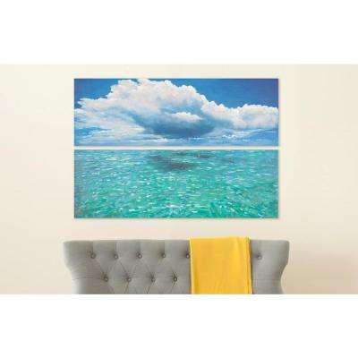"48 in. x 16 in. ""Caribbean Seas"" Wall Art"