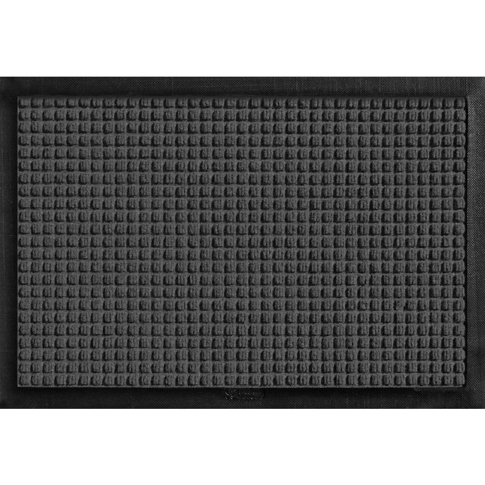 Aqua Shield with Rubber Border Charcoal 17.5 in. x 26.5 in.