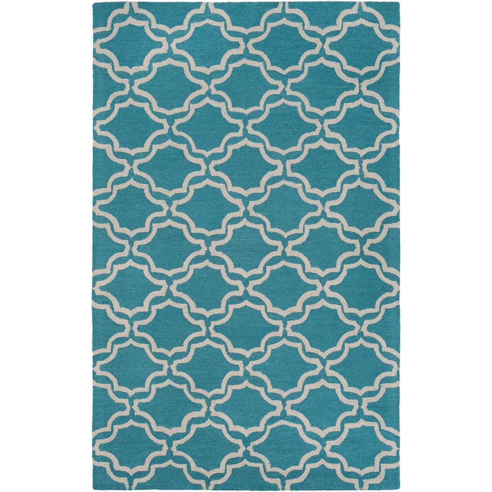 Impression Miranda Blue 8 ft. x 10 ft. Indoor Area Rug
