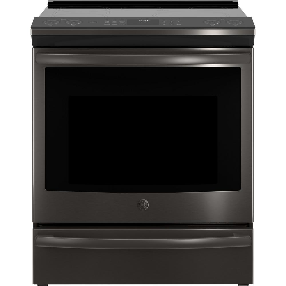 5.3 cu. ft. Slide-In Smart Electric Range with Self-Cleaning True Convection