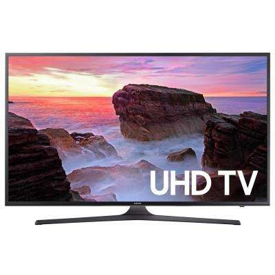 MU6300 65 Class LED 2160p 60Hz Internet Enabled Smart 4K Ultra HDTV with Built-In Wi-Fi