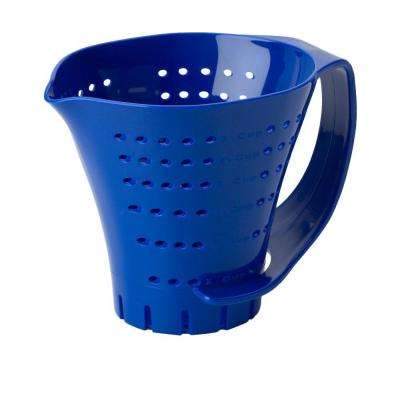 Measuring Colander in Blue