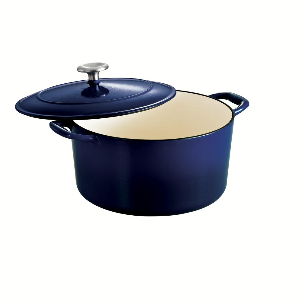 Gourmet 6.5 Qt. Cast Iron Dutch Oven