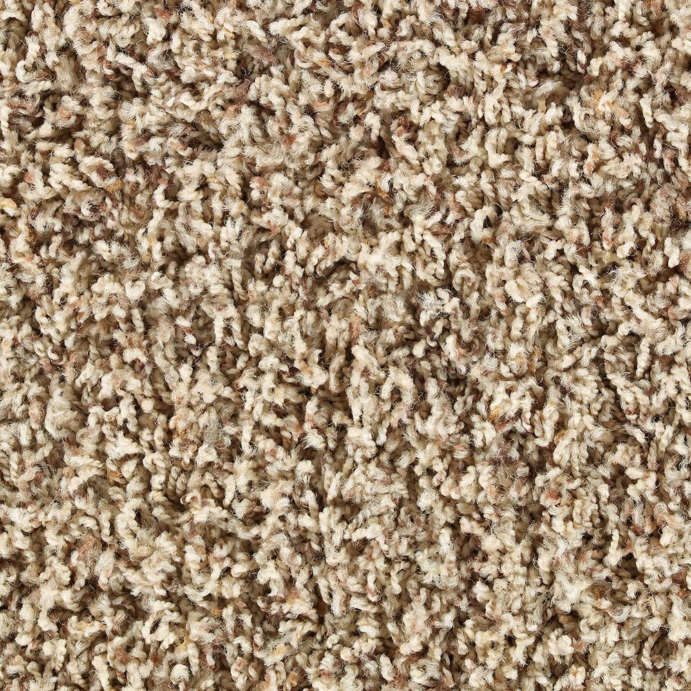 Martha Stewart Living Chequers Cappuccino - 6 in. x 9 in. Take Home Carpet Sample-DISCONTINUED