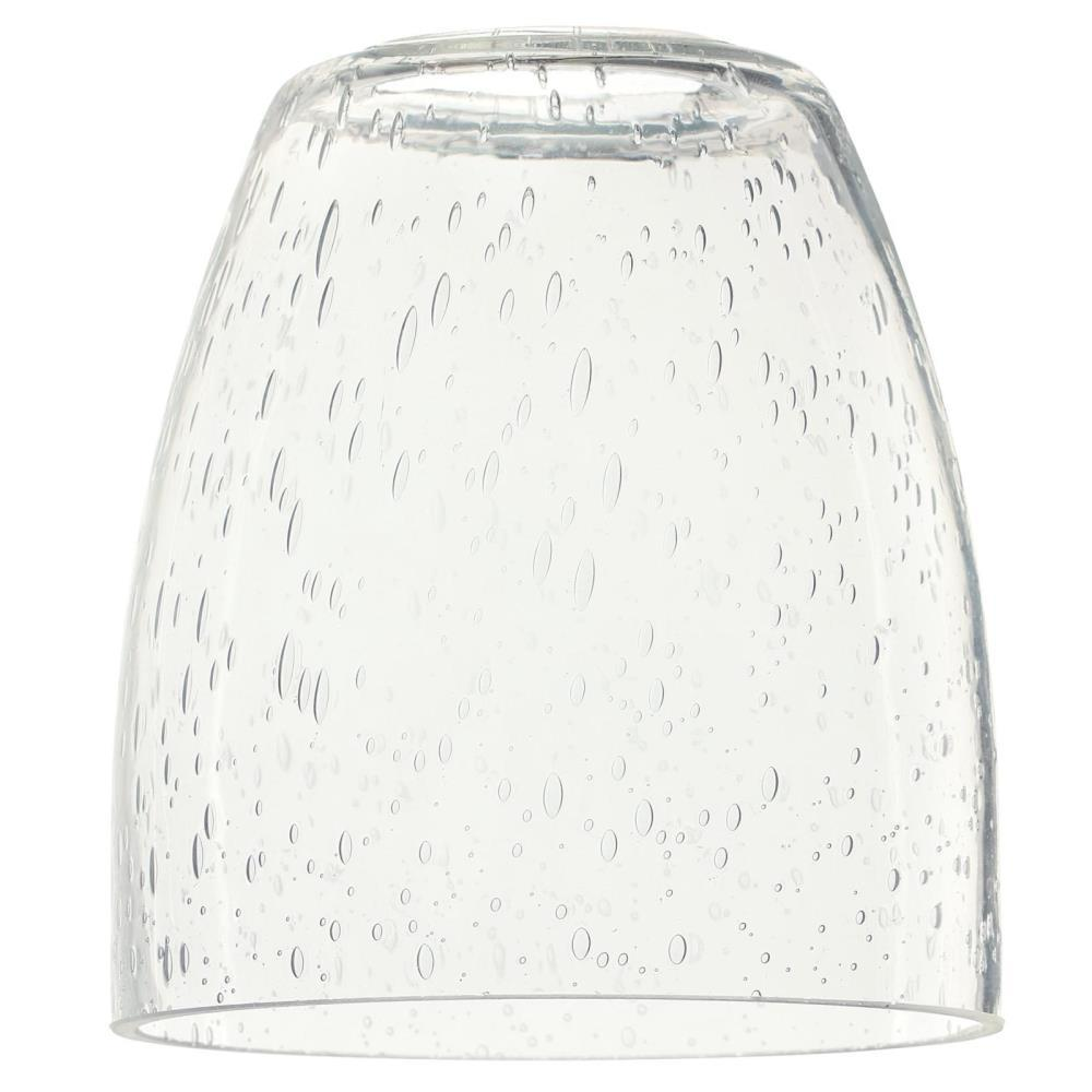 4-3/4 in. Clear Seeded Glass Shade with 2-1/4 in. Fitter and