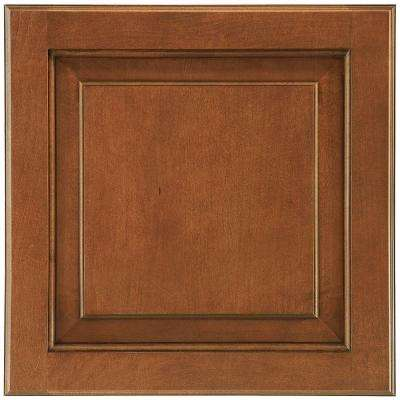 14-9/16x14-1/2 in. Cabinet Door Sample in Charlottesville Maple Auburn Glaze Square
