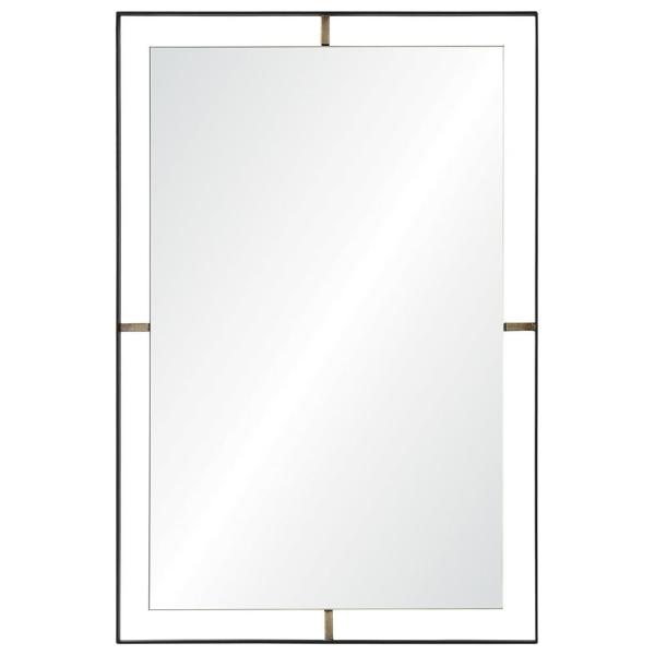 Renwil Heston 30.5 in. x 20 in. Framed Wall Mirror MT1857