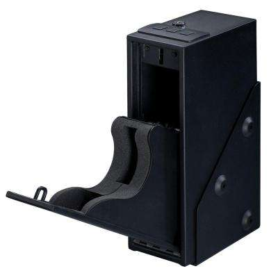 Single Pistol Quick Access Safe with Electronic Lock, Black