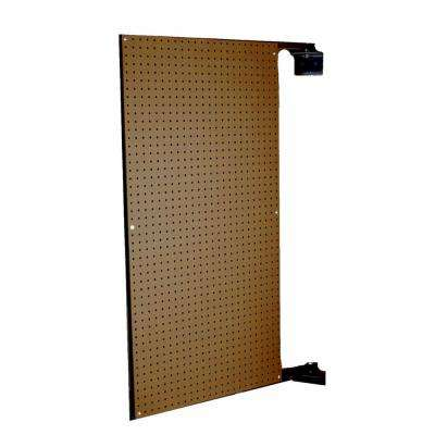 XtraWall 24 in. W x 48 in. H x 1-1/2 in. D Wall Mount Double-Sided Swing Panel Pegboard