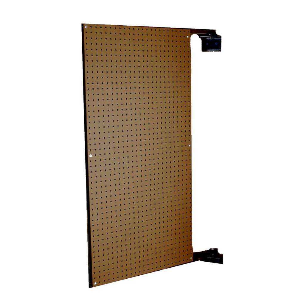 XtraWall 24 in. W x 48 in. H x 1-1/2 in. D Wall Mount Double-Sided Swing Panel Pegboard