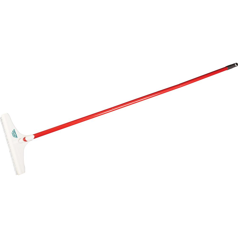 Roberts 12 in. Carpet Rake and Groomer with 51 in. Handle