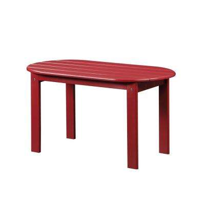 Adirondack Red Outdoor Coffee Table