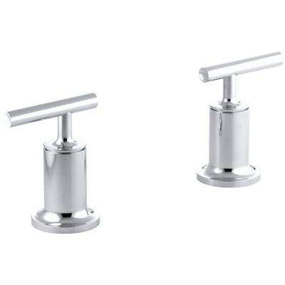 Purist 2-Handle High-Flow Valve Trim Kit in Polished Chrome (Valve Not Included)