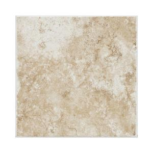 Daltile Fidenza Bianco 18 In X 18 In Porcelain Floor And