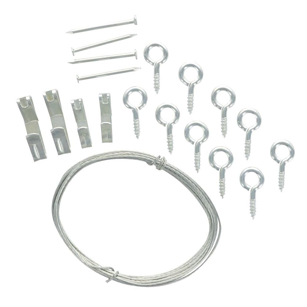 The Hillman Group 10 30 Lb Conventional Picture Hanging Kit