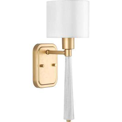 Palacio Collection 1-Light Vintage Gold Sconce