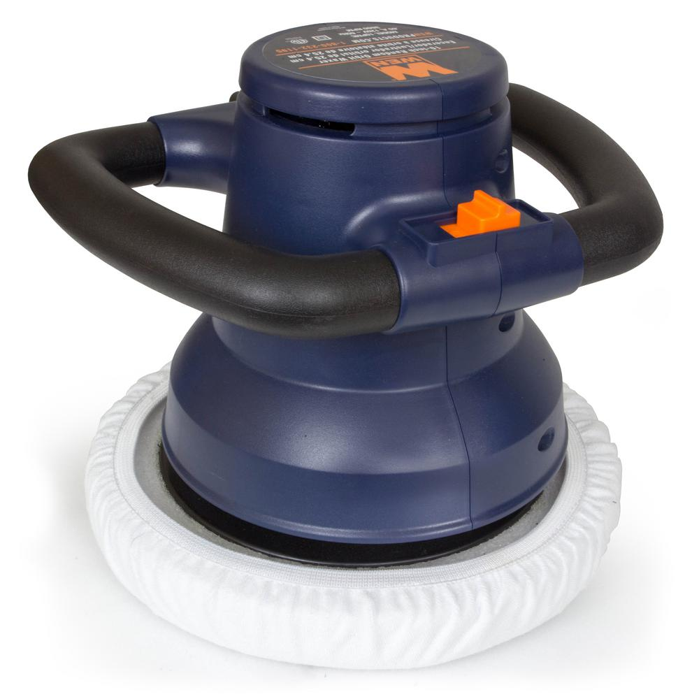 WEN Factory Reconditioned 120-Volt Corded 10 in. Waxer/Polisher in Case with Extra Bonnets