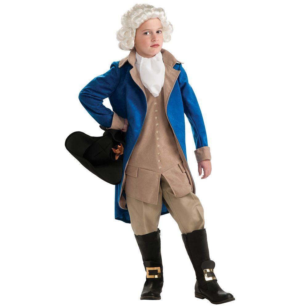 Rubie S Costumes Boys General George Washington Costume