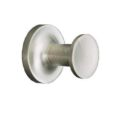 Purist Single Robe Hook in Vibrant Brushed Nickel