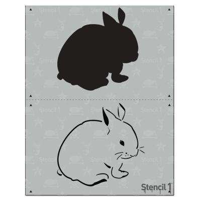 Bunny 2 Layer Stencil