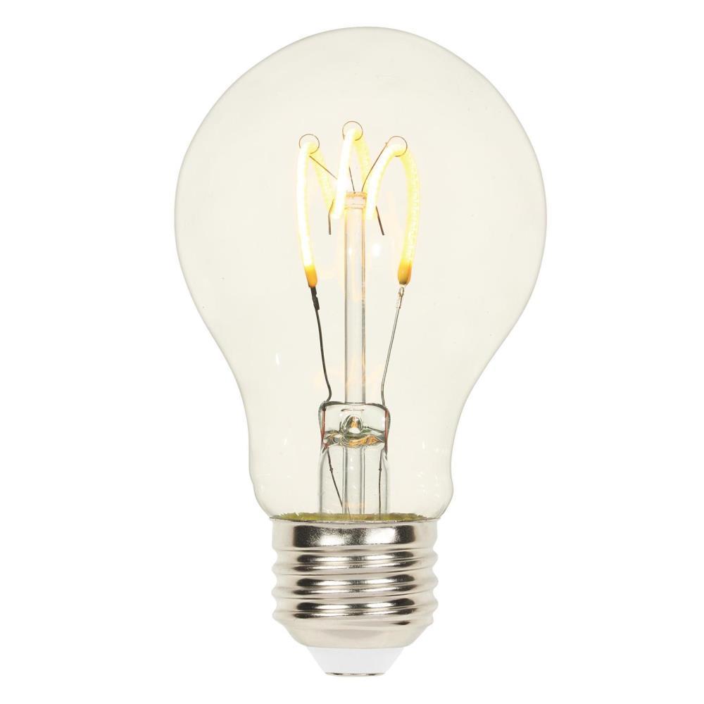 25-Watt Equivalent A19 Dimmable 2700K Flexible Filament LED Light Bulb