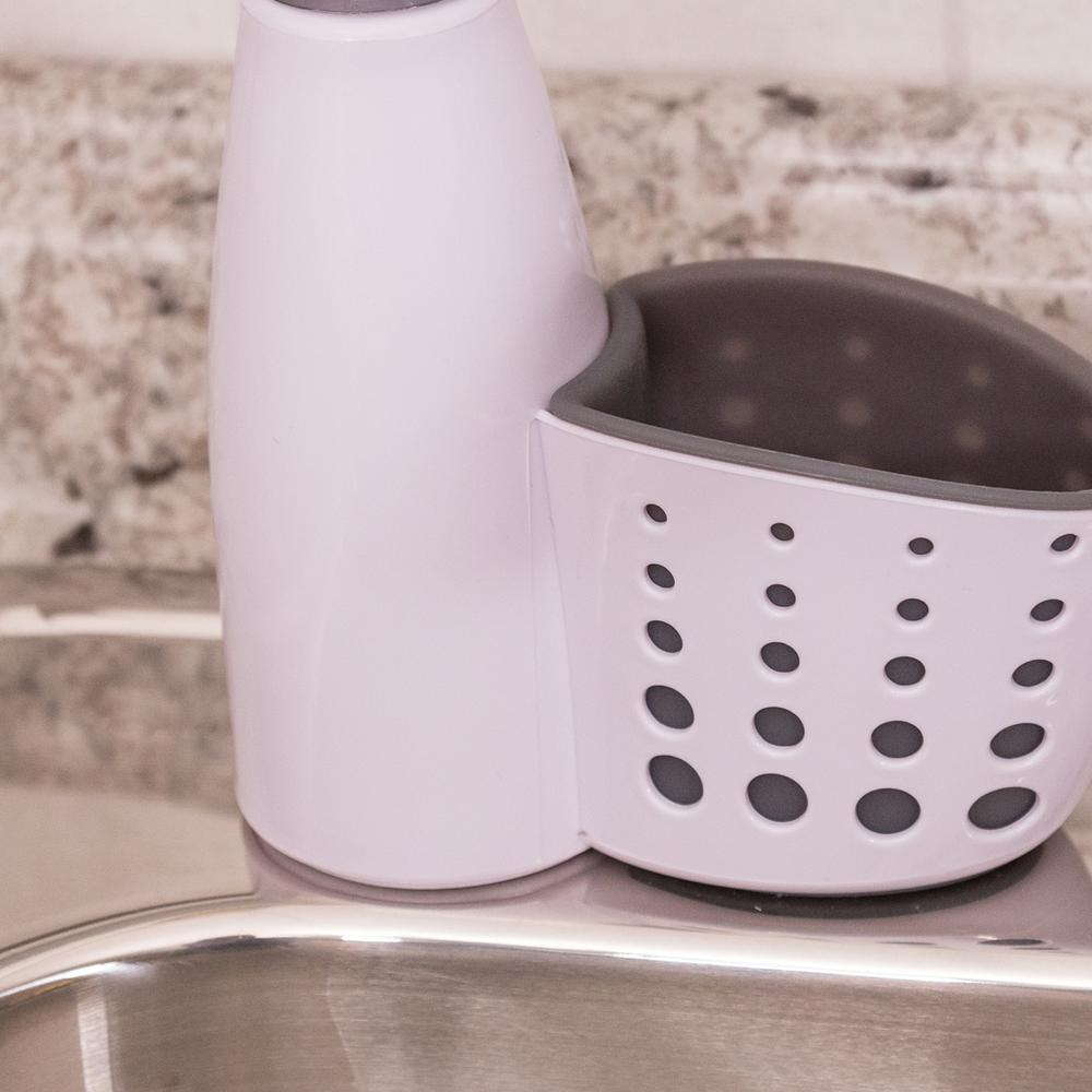 Real Solutions for Real Life Soap Dispenser with Sponge Holder