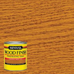 minwax 1 qt wood finish colonial maple oil based interior stain 70005 the home depot. Black Bedroom Furniture Sets. Home Design Ideas