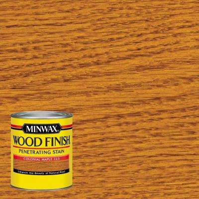 1-qt. Wood Finish Colonial Maple Oil-Based Interior Stain (4-Pack)
