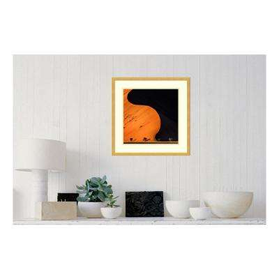 21 in. W x 21 in. H 'Light And Shadow' by Piet Flour Printed Framed Wall Art