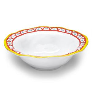 Click here to buy Q Squared Porto Chal 12 inch Melamine Serving Bowl by Q Squared.