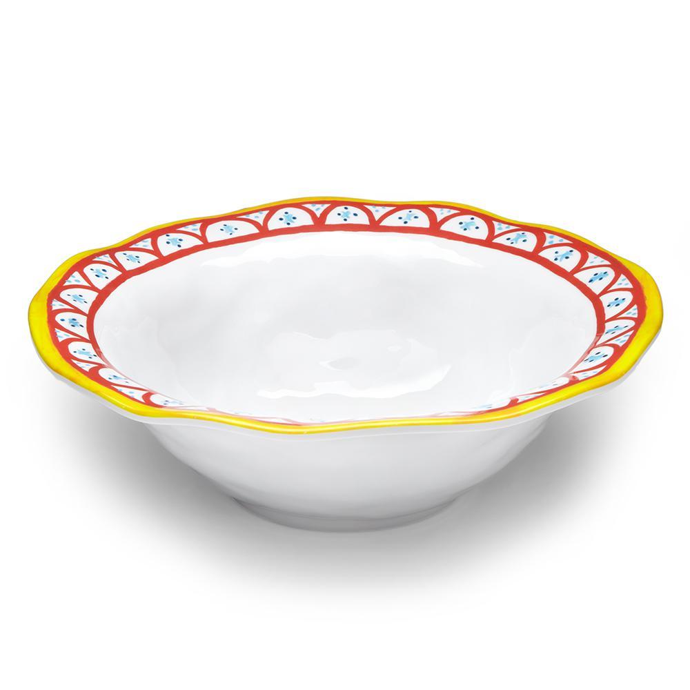 Q Squared Porto Chal 12 inch Melamine Serving Bowl by Q Squared